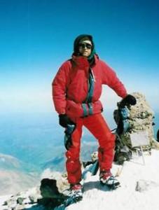 Kaido Pähn Elbruse läänetipus. 5642m