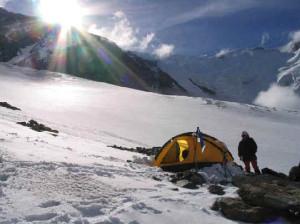 Esimene laager kõrgusel 2800m