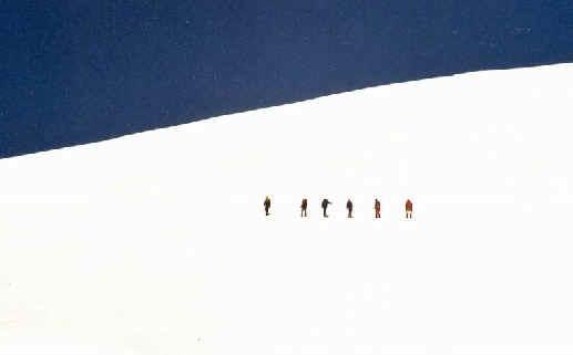 Mauditi kuru. 4100 m